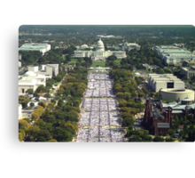 The Quilt on the National Mall - Washington D.C Canvas Print
