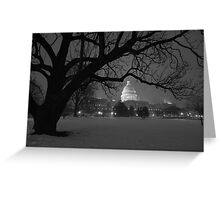 The United States Capital - Washington D.C Greeting Card