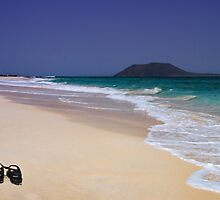 Wish You Were Here...Fuerteventura by David Lewins