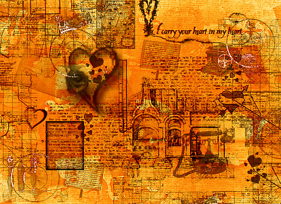 Map of the Heart III by Sarah Vernon