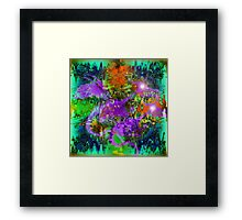 Abstract Dragons. Framed Print