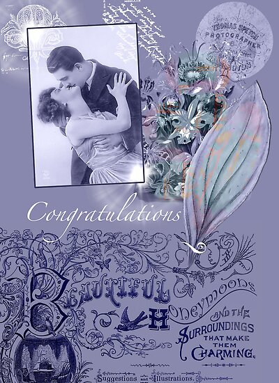 Congratulations Wedding by Sarah Vernon