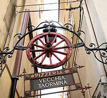 Pizzeria Vecchia Taormina by tamarakenyon