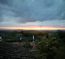 Tuscan Sunset by Nadine Rippelmeyer