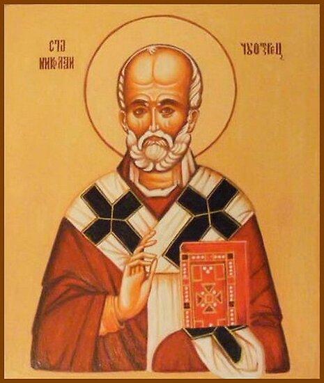Saint Nicola by jovica