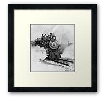 Tarantula Train Framed Print
