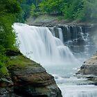 Lower Waterfall at Letchworth by marilynwood