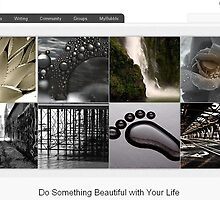 RB Homepage - Featured my Work  by Richard Murch