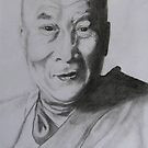 The Dalai Lama by carol selchert