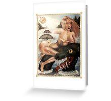 Sea Serpent Greeting Card