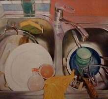 Dishes by Br. Cassian (Neale) Sommersby