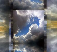 Echoes/Reflections: Composition With Clouds and Sky — July 5, 2010 by Ivana Redwine