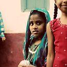 Shy girl by Lauren Tober