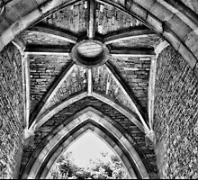 Arch close up B&W by Robyn Maynard