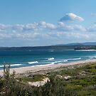 Cudmirrah Surf Beach...Panorama by Les Boucher
