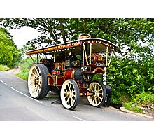 Steam Traction Engine #1 Photographic Print