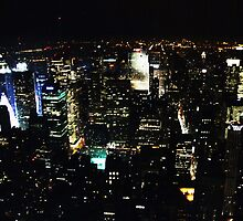 New York Skyline by Camillanne
