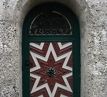 Old Door 1926 by Ellanita