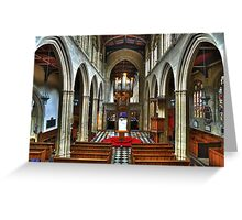 University Church of St Mary the Virgin, Oxford Greeting Card