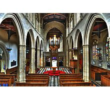 University Church of St Mary the Virgin, Oxford Photographic Print