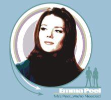 Emma Peel- Mrs Peel...We're Needed by TheeFunk