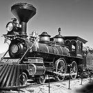 Famous Old Steam Train by David DeWitt