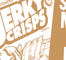 Jerky Crisps -- Stays Moist in Milk! Sticker