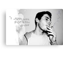 White Lies 2 Canvas Print