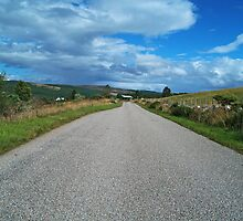 The Road to Inveroykel by WatscapePhoto