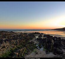 Sunset coast by Robert Karreman