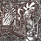 Zebra Snail by Larry Martinez