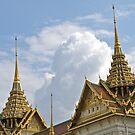 Thailand, Bangkok, Wat Phra Kaeo, Phra Mondop by johnrf