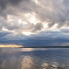Tempest over Bell Island - Panorama by Stephen Rowsell