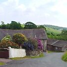 Barn at Bandrake Farm. Cumbria, England. by Roy  Massicks