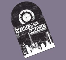 World Of Music by modernistdesign