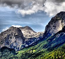 Mountain Stadelhorn at Reiter Alp. by Daidalos