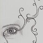 Inner eye spiral by Jess Hall