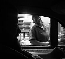 Fun at the Drive-thru by Leyla Hur
