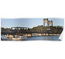 Bridge at Batemans Bay Poster
