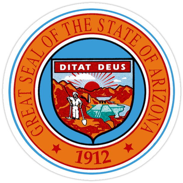Arizona State Seal by GreatSeal