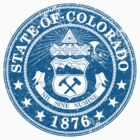 Colorado State Seal by GreatSeal