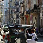 Street scene, Havana, Cuba by buttonpresser