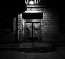 Bus Depot Door by Justin Copelin