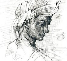COPY OF MICHELANGELO DRAW by jovica