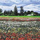 Fields of Flowers by Richard Nowak