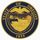 Oregon State Seal by GreatSeal