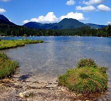 Lake Hintersee 02. Germany. by Daidalos