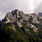 Mountain Hochkalter 02. Germany. by Daidalos
