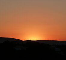 Sunrise Over Albufeira - Portugal by Radeon12345