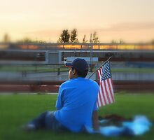Patriotic Youth by Terri Stapleton